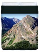 Hiking The Mount Massive Summit Duvet Cover