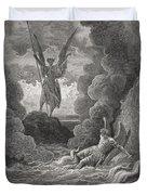 Illustration By Gustave Dore 1832-1883 Duvet Cover