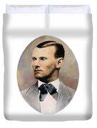 Jesse James, 1847-1882 Duvet Cover