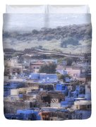 Jodhpur - India Duvet Cover