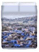 Jodhpur - India Duvet Cover