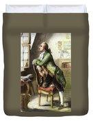 Johann Goethe, 1749-1832 Duvet Cover