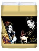 June Carter And Johnny Cash Collection Duvet Cover