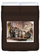 Kansas-nebraska Act, 1855 Duvet Cover