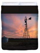 Kansas Sunset Duvet Cover