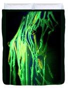 Liquid Latex Duvet Cover