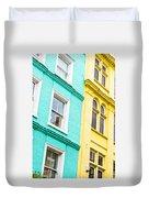 London Houses Duvet Cover