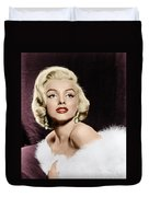 Marilyn Monroe Duvet Cover by Granger
