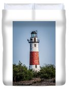 Middle Island Lighthouse Duvet Cover