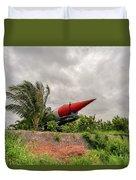 Military Weapons, Ballistic, Anti-aircraft, Medium-range Missile 5 Duvet Cover