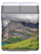 Montana-glacier National Park-grinnell Glacier Trail Duvet Cover