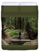 Montgomery Woods State Natural Reserve Duvet Cover