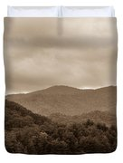 Nature Landscapes Around Lake Santeetlah North Carolina Duvet Cover