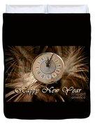 New Year Duvet Cover