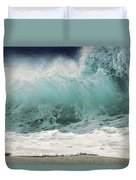 North Shore Wave Duvet Cover by Vince Cavataio - Printscapes