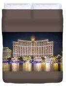November 2017 Las Vegas Nevada - Scenes Around Bellagio Resort H Duvet Cover