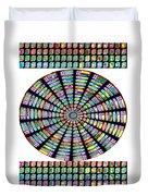 Novino Sale Fineart Chakra Mandala Round Circle Inspirational Healing Art At Fineartamerica.com By N Duvet Cover