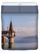 Oberhofen - Switzerland Duvet Cover
