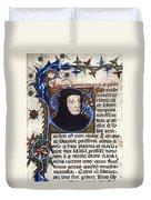 Petrarch (1304-1374) Duvet Cover