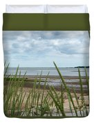 Plymouth, Massachusetts, Beach Duvet Cover