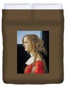 Portrait Of A Young Woman Duvet Cover