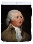 President John Adams Painting Duvet Cover