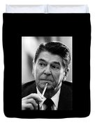 President Ronald Reagan Duvet Cover by War Is Hell Store