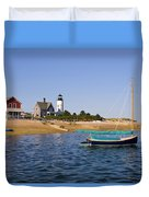 Sandy Neck Lighthouse Duvet Cover