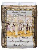 Santa Maria La Blanca Synagogue - Toledo Spain Duvet Cover