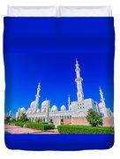Sheikh Zayed Grand Mosque Duvet Cover