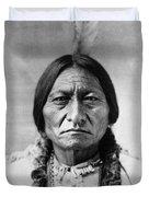 Sitting Bull 1834-1890. To License For Professional Use Visit Granger.com Duvet Cover
