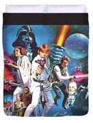 Star Wars A Poster Duvet Cover