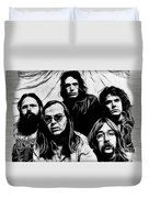 Steely Dan Collection Duvet Cover