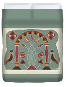 """Study For Proposed Portfolio """"decorated Chests Of Rural Pennsylvania"""" Duvet Cover"""