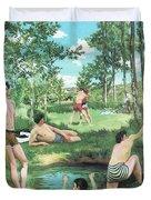 Summer Scene  Duvet Cover