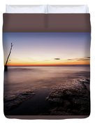 Sunset At Basanija Duvet Cover