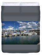 Sutton Harbour Plymouth Duvet Cover