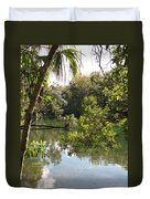 Swamp Reflection Duvet Cover