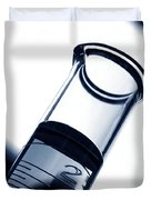 Test Tube In Science Research Lab Duvet Cover