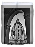 The Beautiful Pasadena City Hall. Duvet Cover