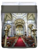 The Historical Mexico City Metropolitan Cathedral Duvet Cover