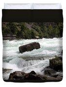 The Niagara River Duvet Cover