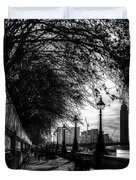 The River Thames Path Duvet Cover
