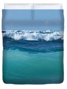 The Blue Sea Duvet Cover