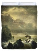 The Voyage Of Life - Manhood Duvet Cover