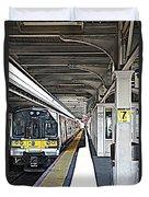 Train Station Series Duvet Cover