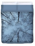 Trees In Epping Forest Duvet Cover