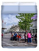 Vancouver Bc Canada Duvet Cover