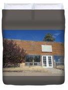 Western Storefront Duvet Cover