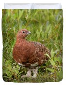 Willow Ptarmigan Duvet Cover
